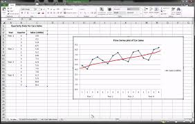 Demand Forecasting Excel Template by Excel Series Forecasting Part 1 Of 3