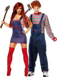 city costumes chucky and chucky couples costumes party city