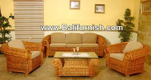 Living Room Wicker Furniture Room Furniture Rattan Indonesia