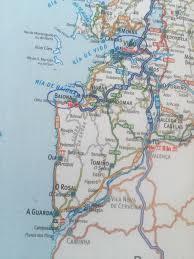 Vigo Spain Map by Atsa Rocky Walks