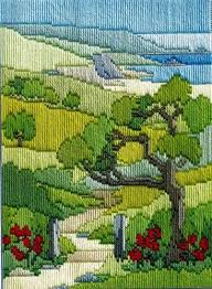 35 best stitch landscapes images on embroidery