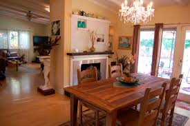 kitchen television ideas kitchen wooden table wooden floor wooden chairs chandelier
