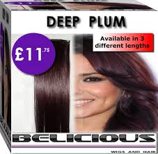 Cherry Red Hair Extensions by Plum Cherry Red Hair Extensions Hair Weave