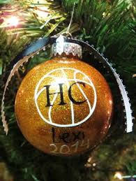 this personalized hand painted custom basketball christmas