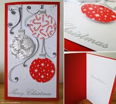 handmade cards handmade card baubles by
