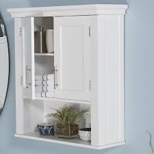 Bathroom With White Cabinets - wall mounted bathroom cabinets you u0027ll love wayfair