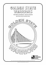 golden state warriors u2013 nba basketball teams logos coloring pages