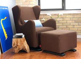 Glider Chair With Ottoman Vola Glider Chair Modern Nursery Furniture By Monte Design