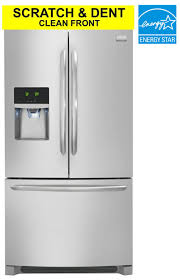 scratch dent kitchen appliances frigidaire gallery scratch and dent clean front 28 cf stainless