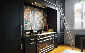 le cuisine design stunning cuisine bois noir inox ideas design trends 2017