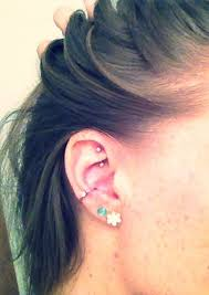 ear piercing hoop 80 inner and outer conch piercing ideas you can t go wrong with