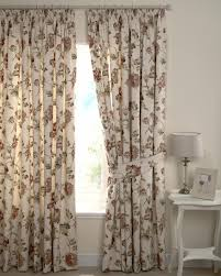 Floral Lined Curtains Ashdowne Lined Curtains