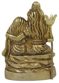 Housewarming Gifts India Buy Hindu God Statue Sculpture Lord Shiva Family Brass Religious