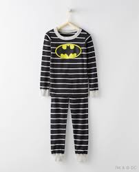justice league batman pajamas in organic cotton