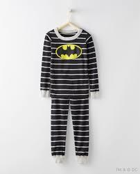 justice league batman pajamas in organic cotton