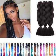 ombre crochet braids kanekalon hair crochet braids ombre silver grey jumbo braiding