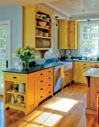 Painting Non Wood Kitchen Cabinets Distressed Milk Paint Kitchen Cabinets Houzz What Color To Paint