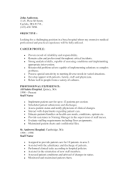 Writing A Nursing Resume Objective Nurse Resume Objective Resume For Your Job Application