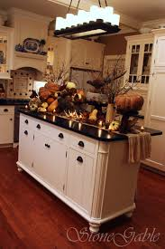 buffet kitchen island thanksgiving woodland buffet stonegable