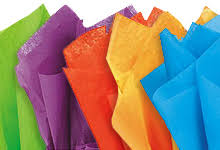 gift paper tissue 240 sheets of 20x26 in colored tissue recycled paper offered in 23