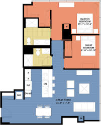 two bedroom floor plans two bedroom floor plans optima chicago center