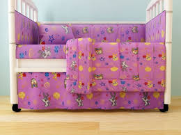 Looney Tunes Crib Bedding Baby Looney Tunes Crib Set Of 5 Pink Price Review And Buy In