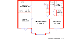 basement compact house plans with basement foundation ranch