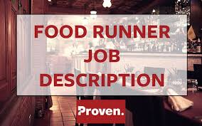 Busboy Job Description Resume by The Perfect Food Runner Job Description