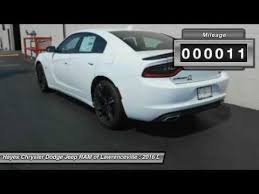 chrysler dodge jeep ram lawrenceville 2016 dodge charger lawrenceville ga l631068