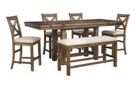 Moriville Counter Height Dining Room Table Ashley Furniture - Dining room table height