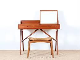 coiffeuse bureau bureau coiffeuse scandinave en teck galerie møbler