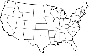 Map Of The United States With State Abbreviations by Average Precipitation In The Lower 48 States Of The United States