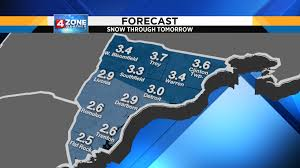 Dearborn Michigan Map by Metro Detroit Weather Accumulating Snow Arrives Tonight