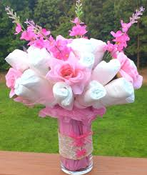 Diaper Cake Centerpieces by Diaper Cake Diaper Bouquet Corset Baby Shower Welcome Gift