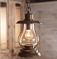 Lantern Pendant Light Fixtures Weathered Patina Lantern Pendant Light