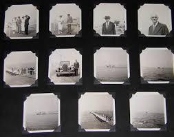 Photo Album Corners George Glazer Gallery Antique Maritime Prints Lang Yachting