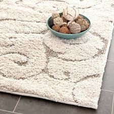 Plush Runner Rugs Safavieh Ultimate Beige Shag Rug 6 7