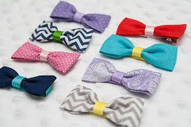 fabric bows stitched by tutorial easy fabric bows