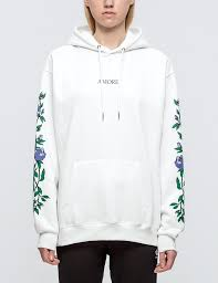 wasted paris hoodie amore in white lyst