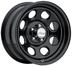 black wheels amazon com pacer 297b soft 8 black black wheel 16x8