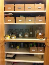 organizing kitchen closet