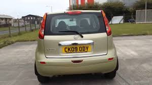 nissan note 2009 interior nissan note acenta gold 2009 youtube