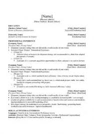 Top Ten Resume Format Examples Of Resumes Good Resume Samples For Fresh Graduates High