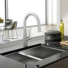 kitchen faucets hansgrohe hansgrohe talis m pull kitchen faucet amazon com
