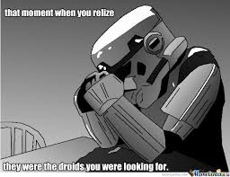 Star Wars Stormtrooper Meme - this is sad storm trooper that failed by orbitermayne meme center