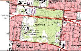Memphis Tennessee Map by Citizens To Preserve Overton Park Forty Years Ago