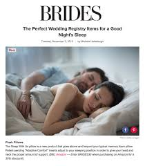 wedding registry review brides magazine the sleeping pillow tops list of