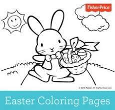 adorable springtime bunny color printable coloring