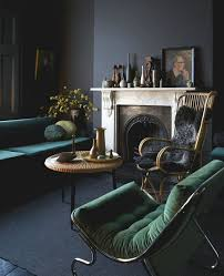 Green Chairs For Living Room 30 Green And Grey Living Room Décor Ideas Digsdigs