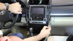 2012 2013 camry dashboard removal youtube